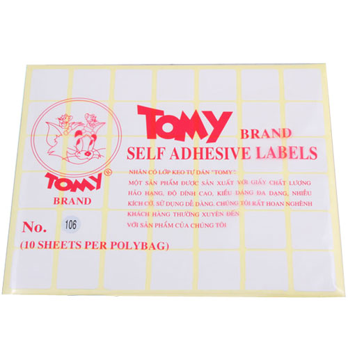 Giấy Decal Tomy 106